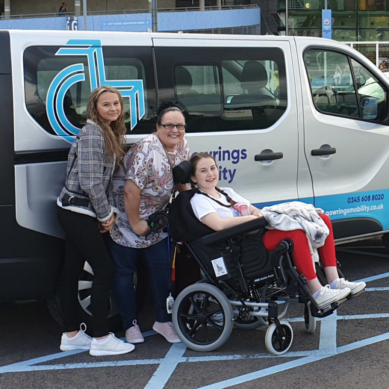 Gowrings Mobility Grant Wish for Spice Girls' Fan